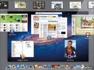 Apple Lion on Mac