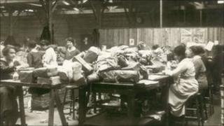 Women postal workers during world war one