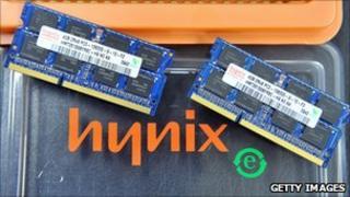 Hynix memory chips