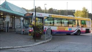 Truro bus station