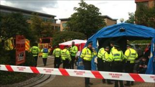 Chemical incident in Central Milton Keynes