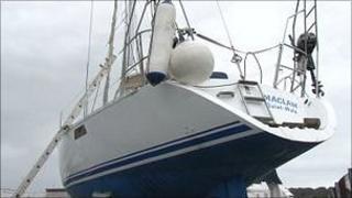 Yacht found off Guernsey's coast