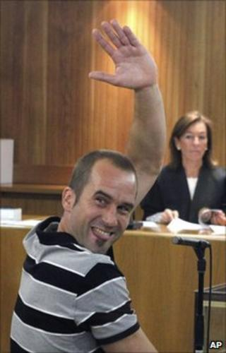 Garikoitz Aspiazu in court in Madrid, 22 June 2011