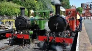 Heritage trains (pic courtesy of the Isle of Man's Department of Community, Culture and Leisure)