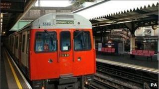 London Underground's Edgware Road Station
