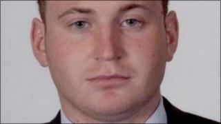 Constable Kerr was killed when a car bomb exploded in Omagh in April