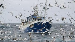Boy John trawler from the BBC programme Trawlermen