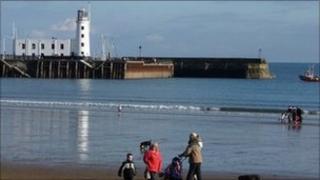 Scarborough sea front