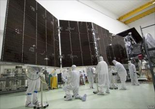 Solar panel on Juno (Nasa)
