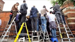 Press photographers