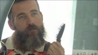 David Clixby has been growing a beard for charity