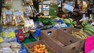 Stall in Kirkgate Market