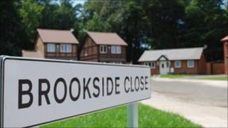 Brookside Close sign