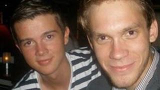 Tore Eikeland (left) and Eigil Knutsen