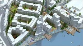 The Carvill Group was behind a planned redevelopment of the Sirocco Works site in Belfast