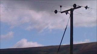 Electricity poles will be removed and replaced by underground cables