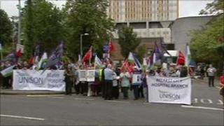City Hospital protest