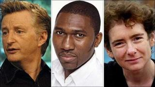 Billy Bragg, Kwame Kwei Armah and Jeanette Winterson