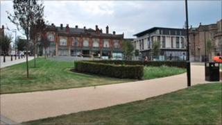 The Minster Gardens, Rotherham