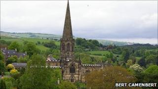All Saints Church in Bakewell