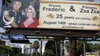 The anniversary billboard