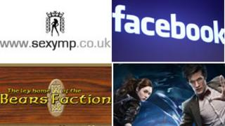 SexyMP, Facebook, Bears Faction and Doctor Who