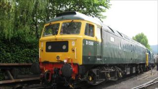Class 47 diesel loco D1566 named Orion (pic: George Jones)