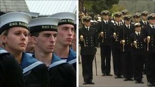 HMS Raleigh and BRNC