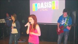 Band at Oasis service