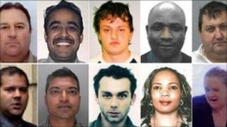 Crimestoppers 10 most wanted fraudsters