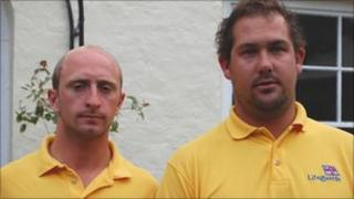 Polzeath lifeguards