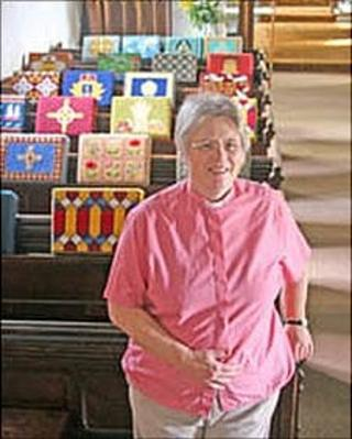 Annette Reed, vicar of Little Paxton