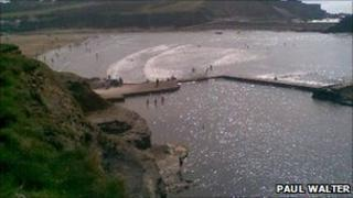 Bude sea pool: Pic Paul Walter