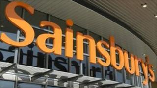 Sainbury's sign