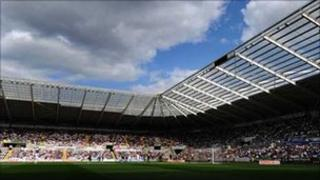 The Liberty Stadium is run by a partnership between the council, the football club and the Ospreys