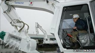 Hitachi mine clearer