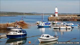 Port St Mary Harbour courtesy of Manxscenes.com