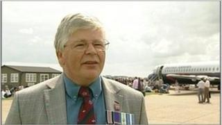 John Livesey at Duxford in Cambridgeshire