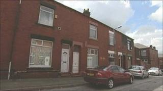 Foster Street in Oldham