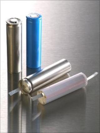 Nexeon Li-ion battery test cells