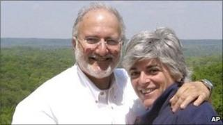 Alan and Judy Gross in his native Maryland