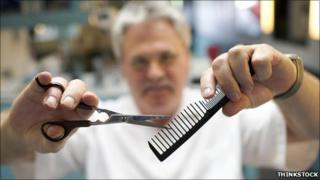 A barber