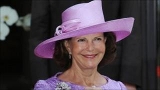 Swedish Queen Silvia pictured earlier this year
