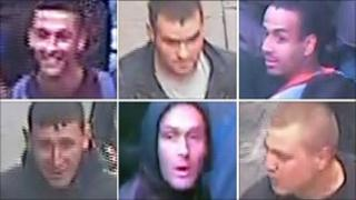 Men wanted in connection with the Manchester and Salford riots