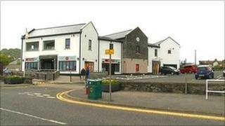 Ballygally post office, shop and village hall