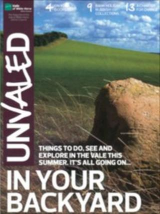 Unvaled front cover