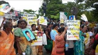 Protest on 11 August in Sri Lanka