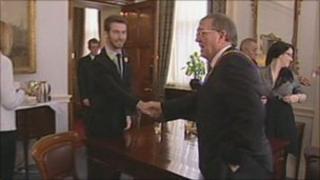 Charles Jupiter-Gannicliffe meets Mayor