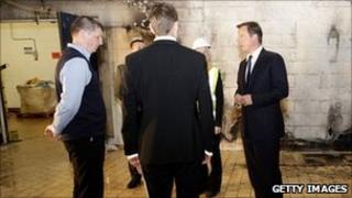 David Cameron visiting Salford