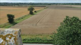 View from Mautby Church, Norfolk